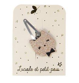 Luciole et petit pois Cat Pink Clip