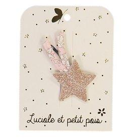 Luciole et petit pois Pink Shooting Star Clip