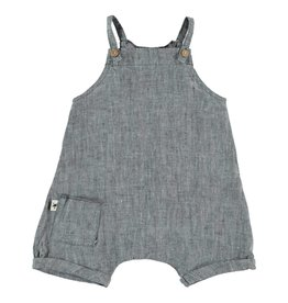My Little Cozmo Grey Linen Overall