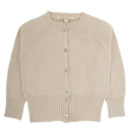 Omibia Otis Cream Cardigan
