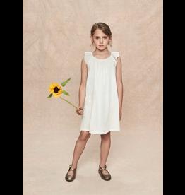 Stay Little Luna Dress Gold Dots