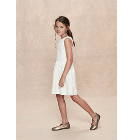 Stay Little Serena Dress White