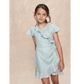 Stay Little Allegra Dress Sky