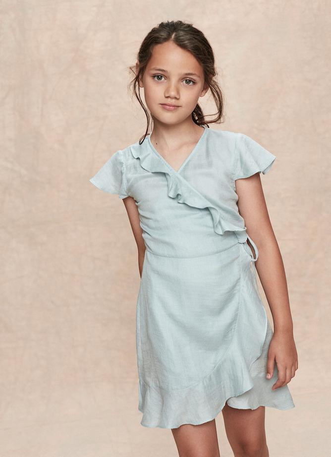Stay Little Allegra Dress Sky