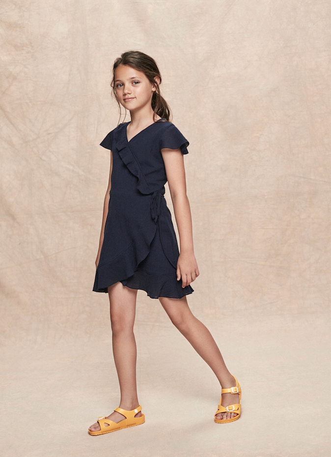 Stay Little Allegra Dress Navy