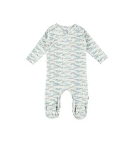 Kids Case Philly Footed Suit Blue