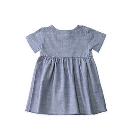 Go Gently Prairie Dress Chambray