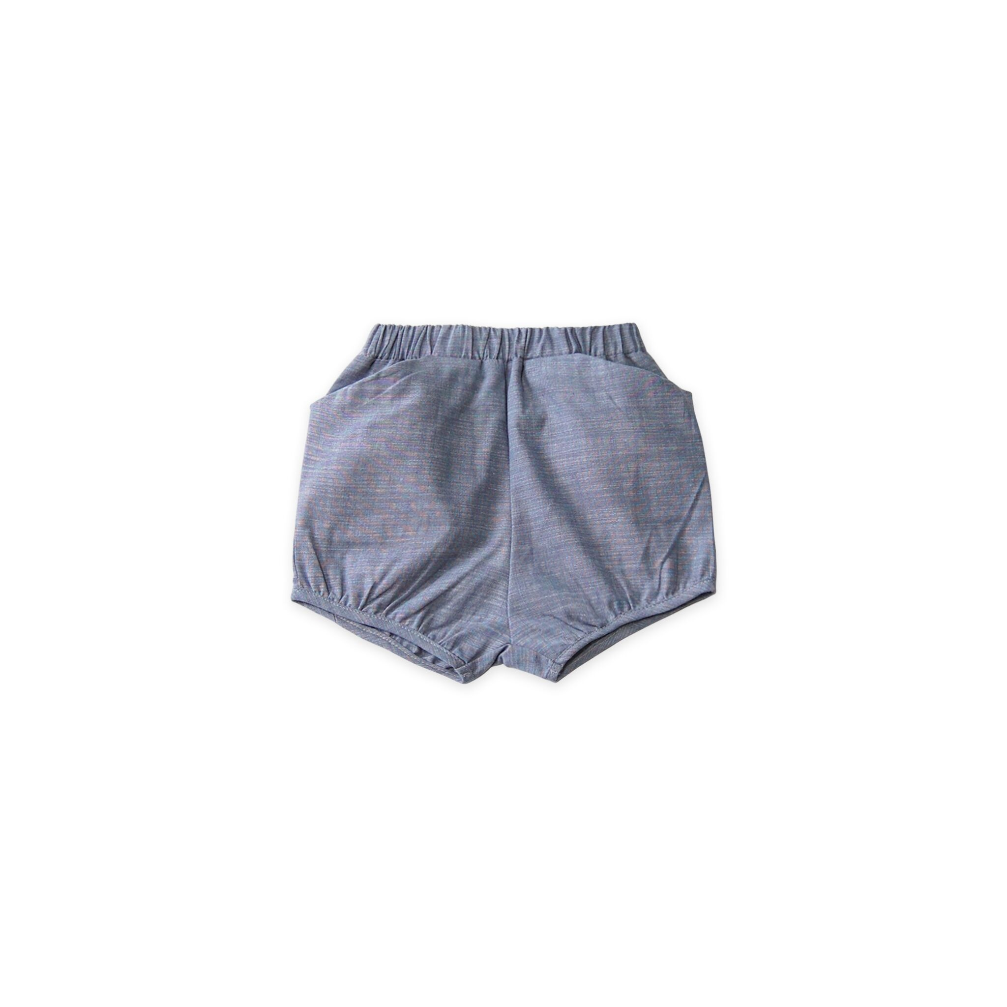 Go Gently Chambray Woven Short