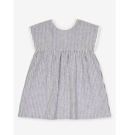 Petite Lucette Verlaine Grey Stripes