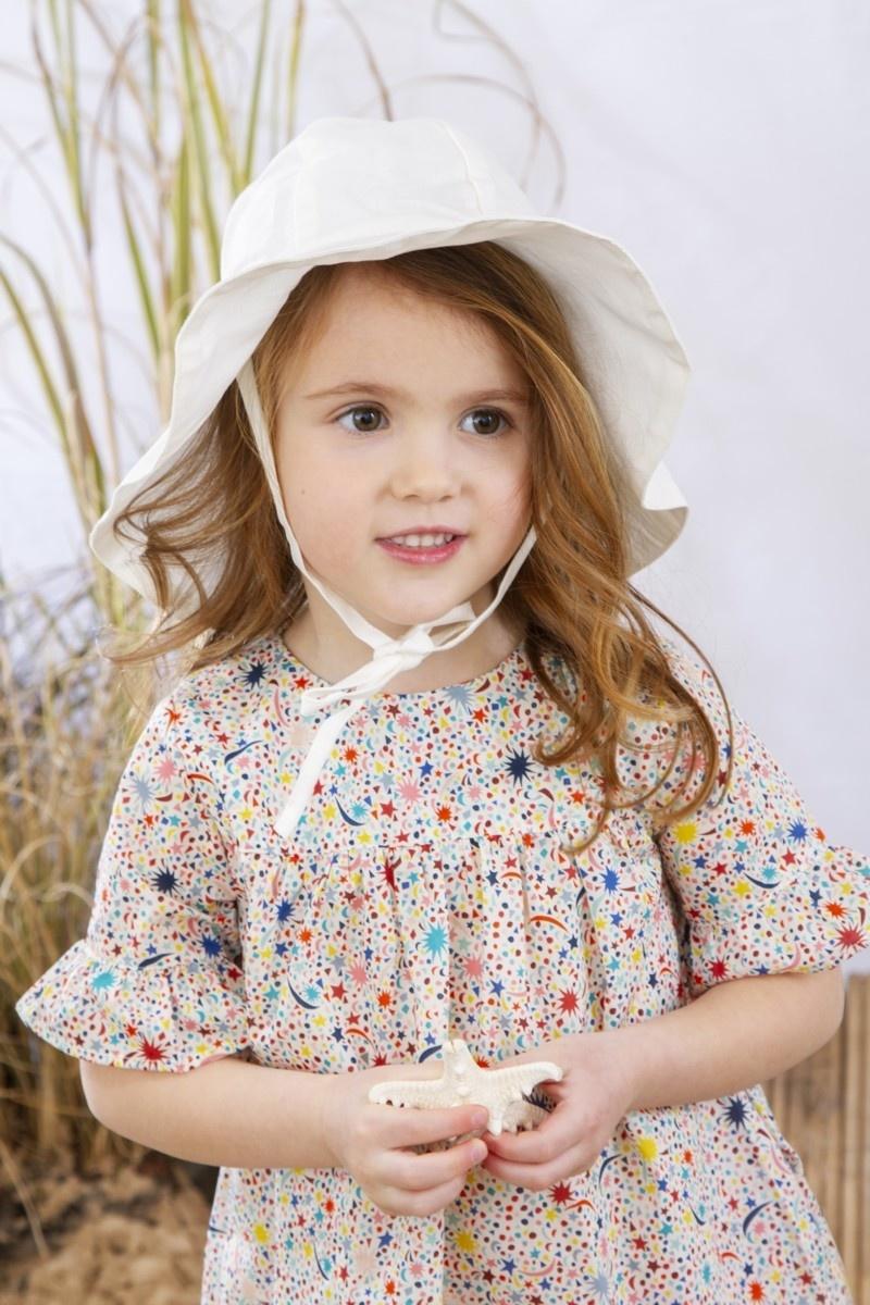 Olivier baby Agatha Hat Linen