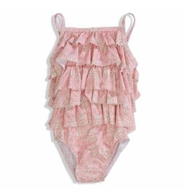 Olivier baby Ruby Pink Swimsuit