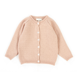 Olivier baby Cashmere Pink Cardigan