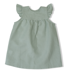 Olivier baby Duck Egg Amber Dress