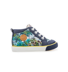 Pom d'Api Basket Multi Navy