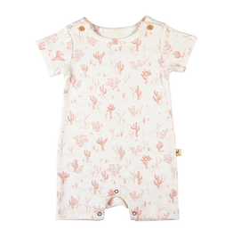 Red Caribou Cacti Garden Romper