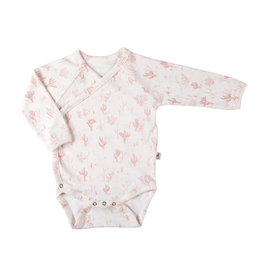 Red Caribou Cacti L/S Onesie