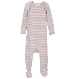 Serendipity Organics Powder Stripe Footie
