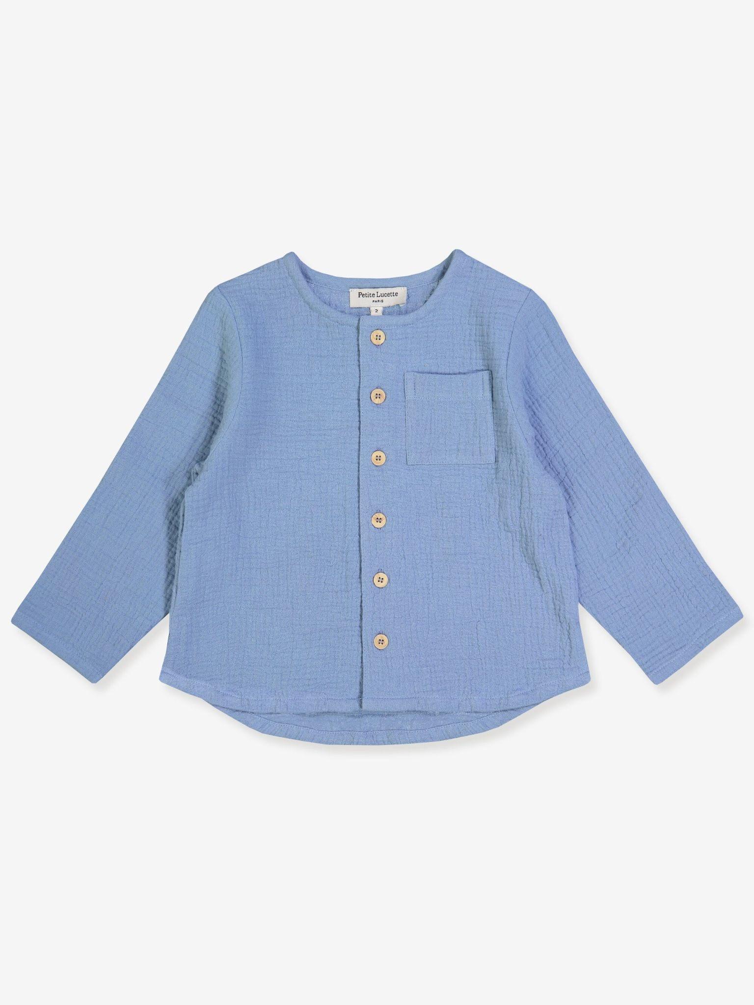 Petite Lucette Gaston Top Blue