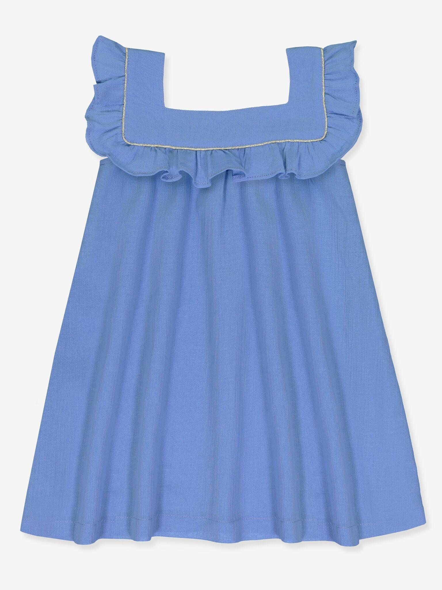 Petite Lucette Venice Dress Blue