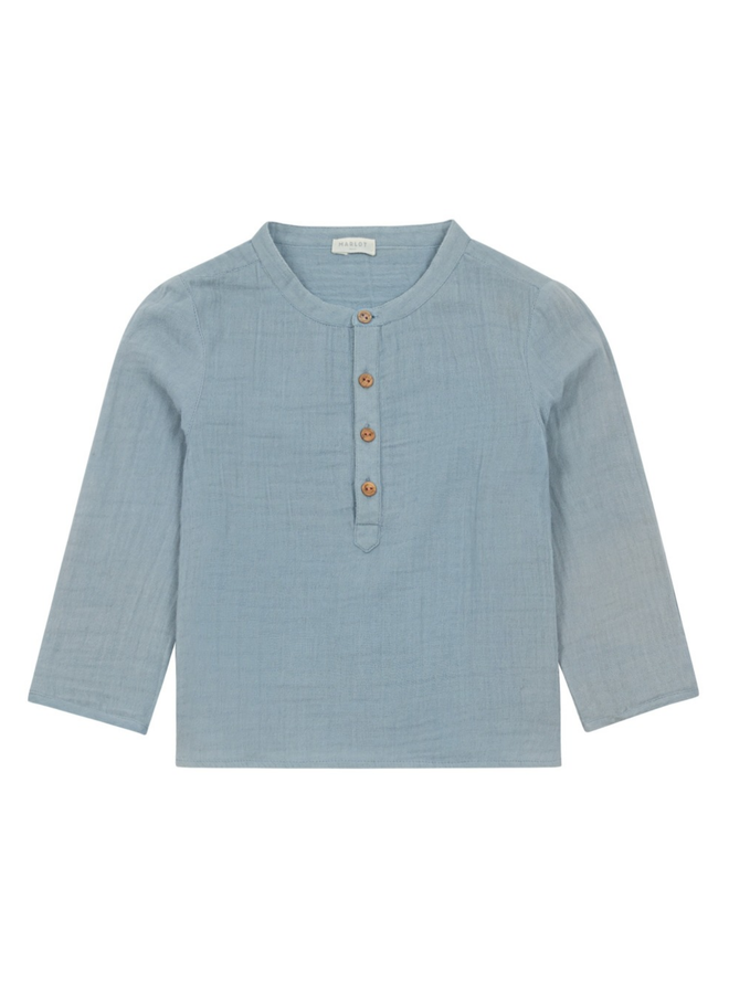 Georges Blue Shirt