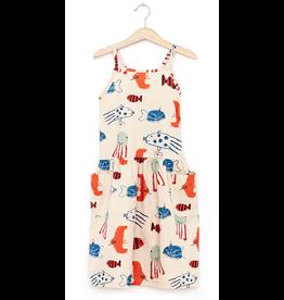 Nadadelazos Mediterranean Fish Dress