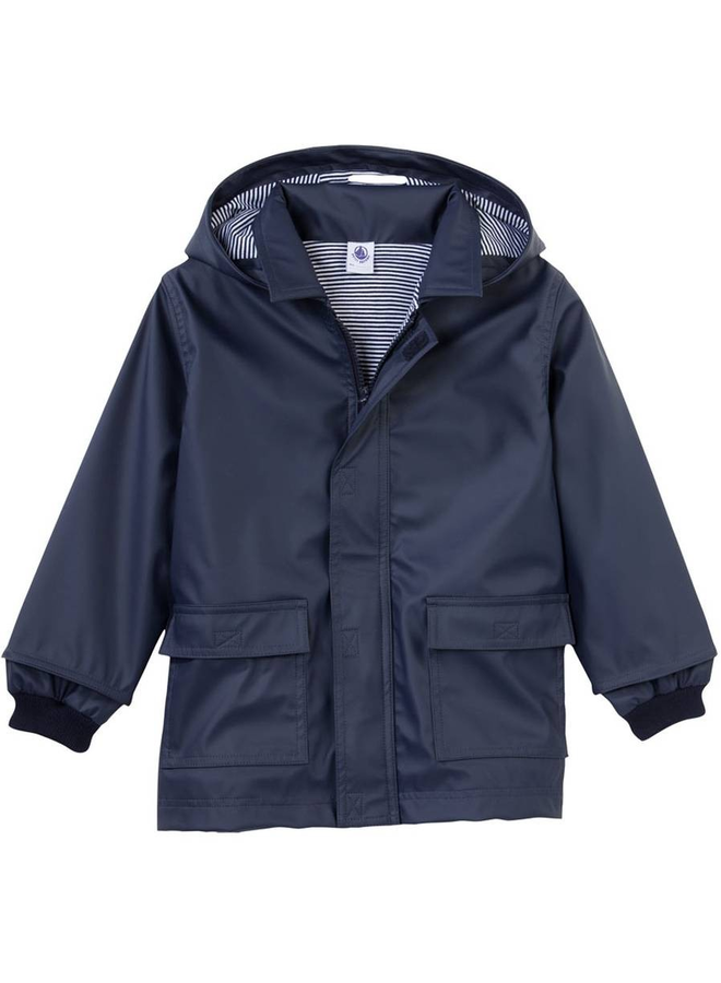Navy raincoat-PB