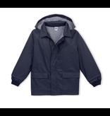 Petit Bateau Baby Navy Raincoat