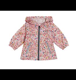 Petit Bateau Floral Raincoat
