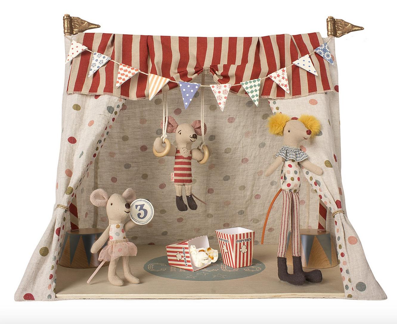 Maileg Circus (with 3 mice)