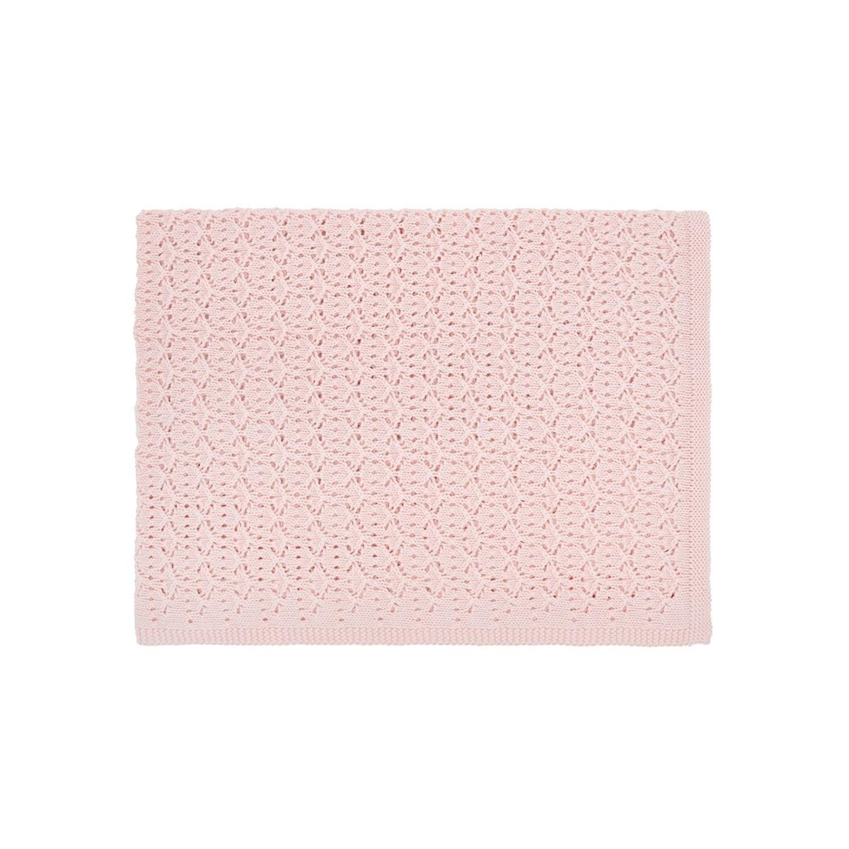 Pink Dentelle Blanket