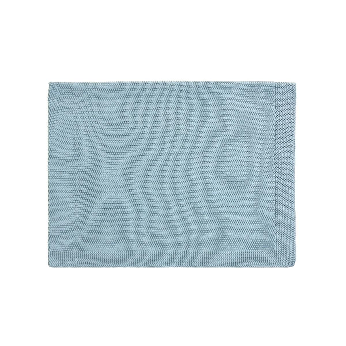 Winter Blue Bou Blanket