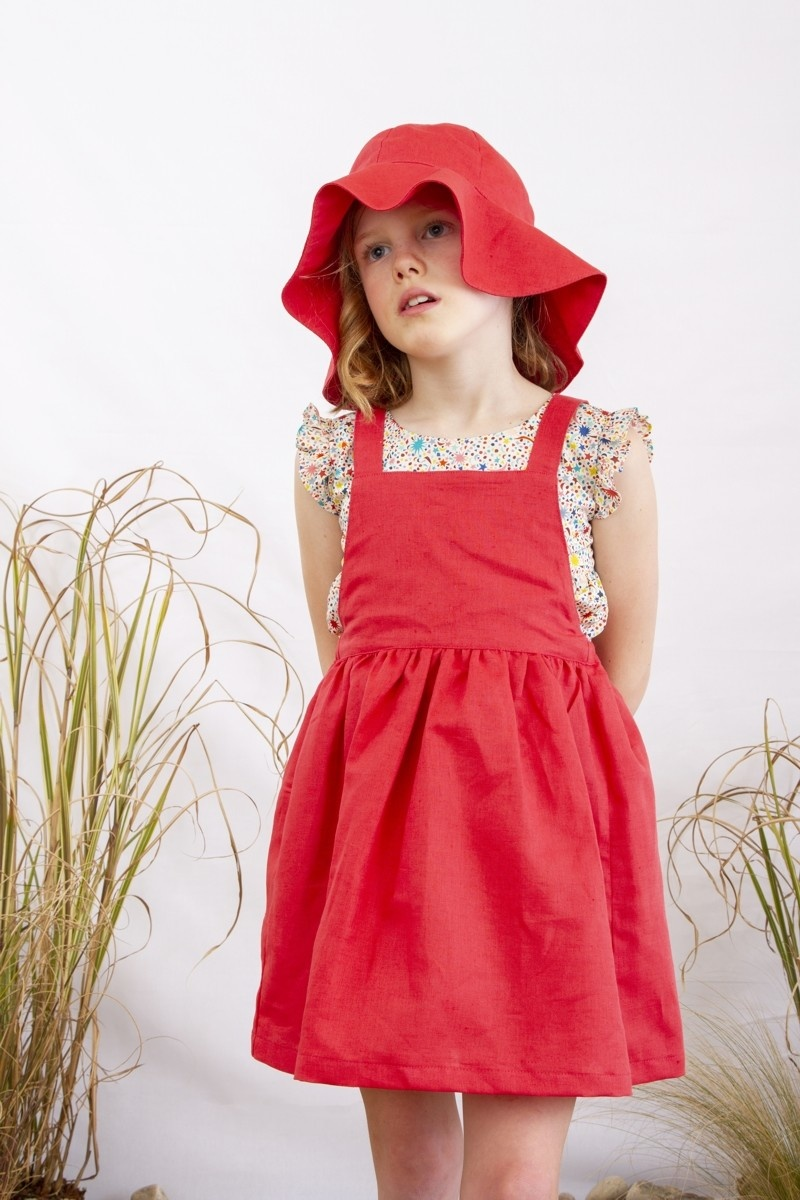 Olivier baby Ivy Pomegranite Dress