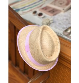 Nathalie Verlinden Cool Pink Straw Hat