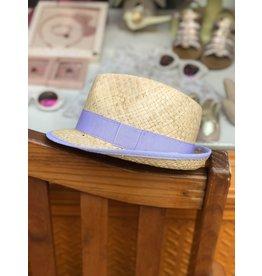 Nathalie Verlinden Lavender Straw Hat
