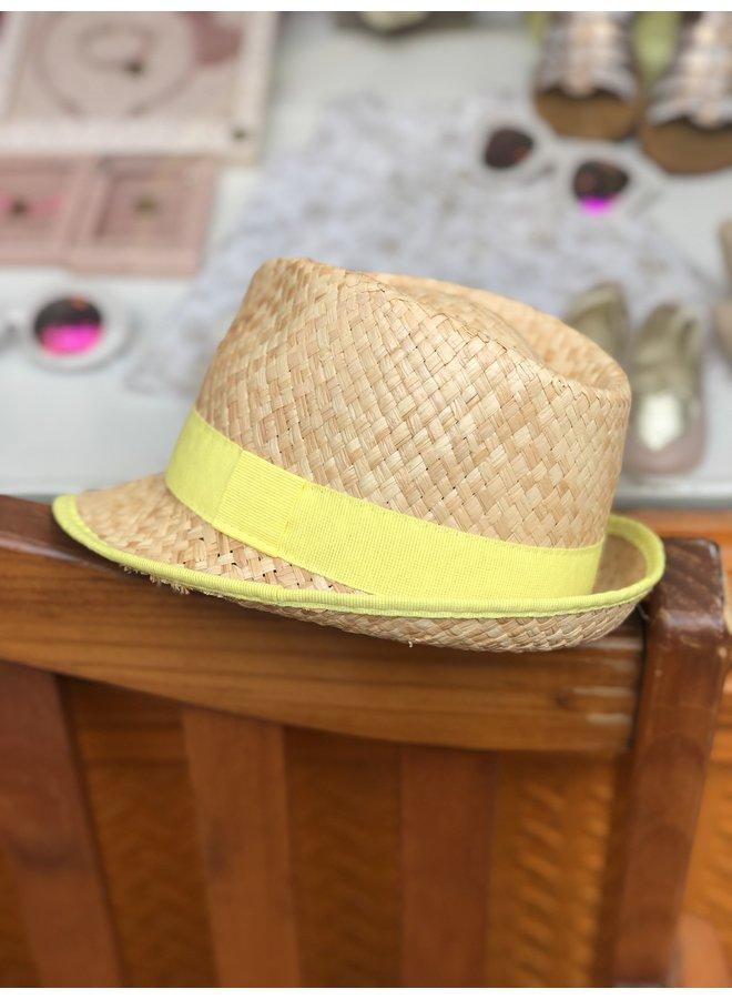 Cool Yellow Straw Hat