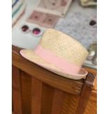 Nathalie Verlinden Peach Straw Hat