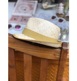 Nathalie Verlinden Mustard Straw Hat