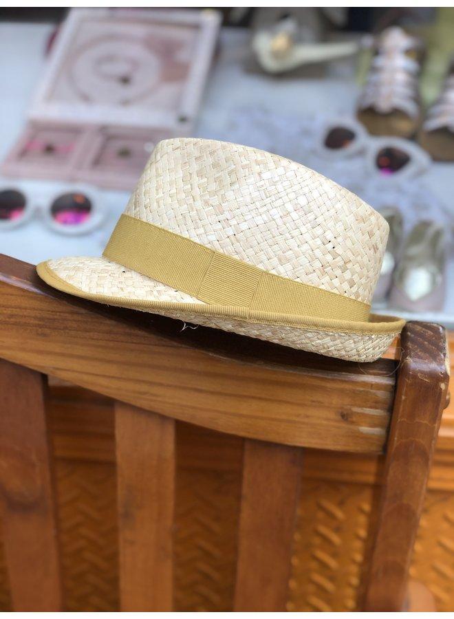 Mustard Straw Hat