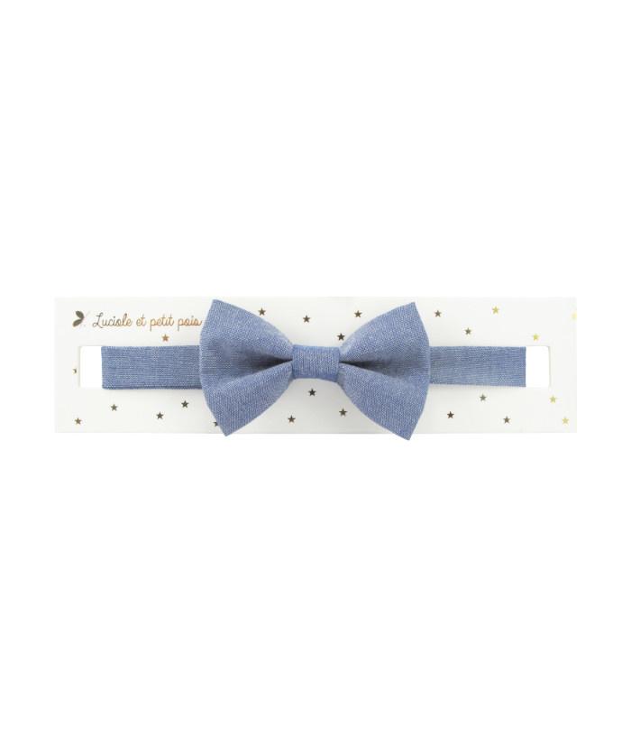 Luciole et petit pois Blue Bow Tie