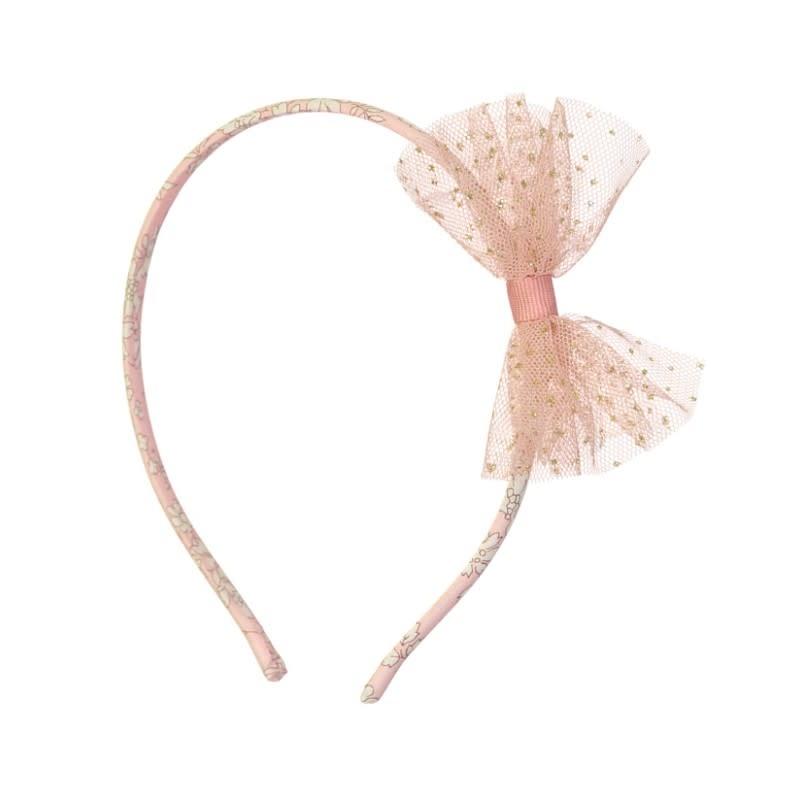 Luciole et petit pois Tutu Hairband Pink