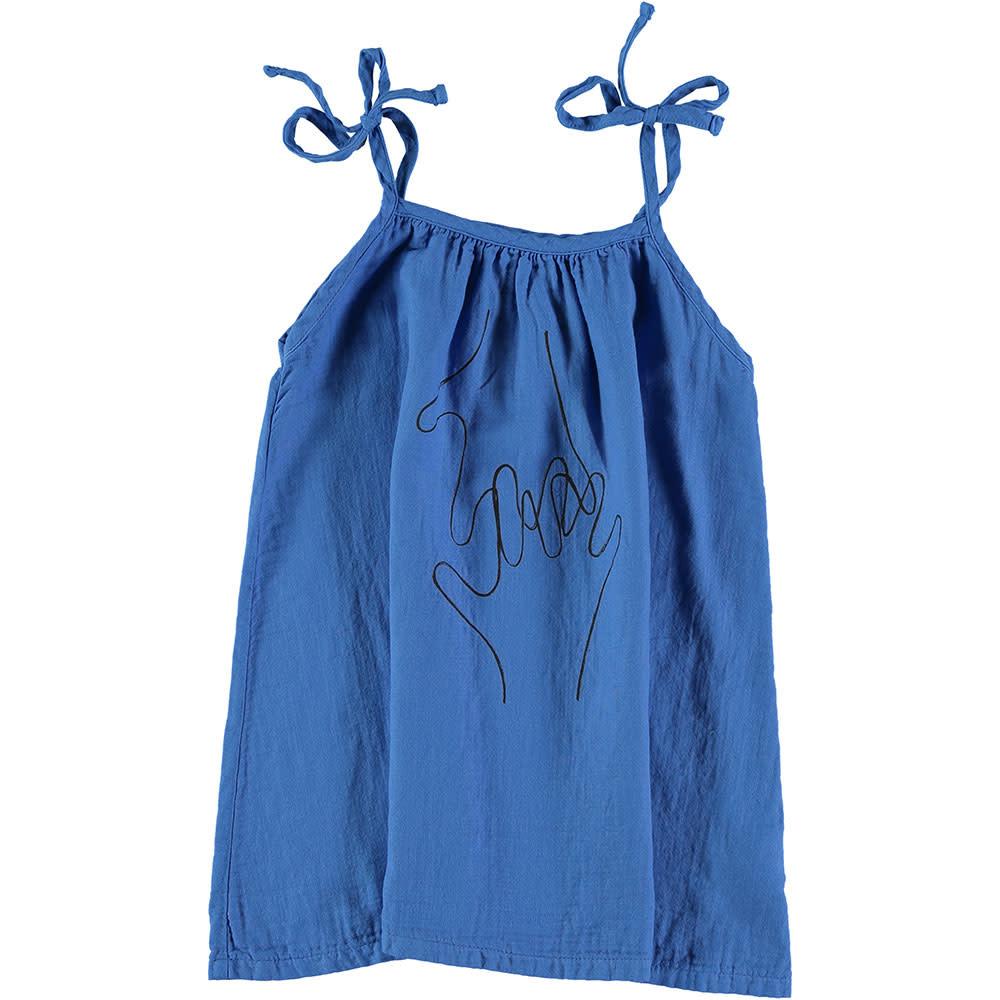 Picnik Blue Hand Dress