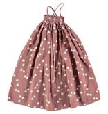 Picnik Pink White Bird Dress