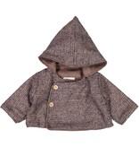 Mademoiselle à Soho Chaperon Coat Tweed