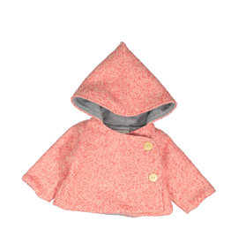 Mademoiselle à Soho Chaperon Coat Pink