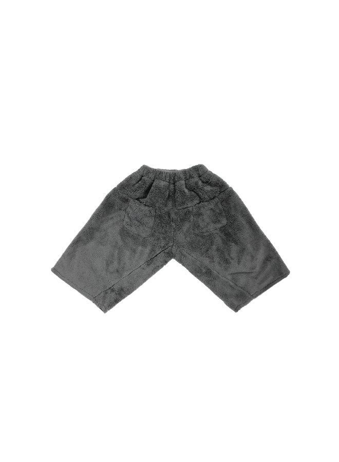 Fuzzy Charcoal Pants