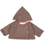 Mademoiselle à Soho Chaperon Coat Mini Leaves