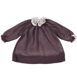 Mademoiselle à Soho Purple Smock Top