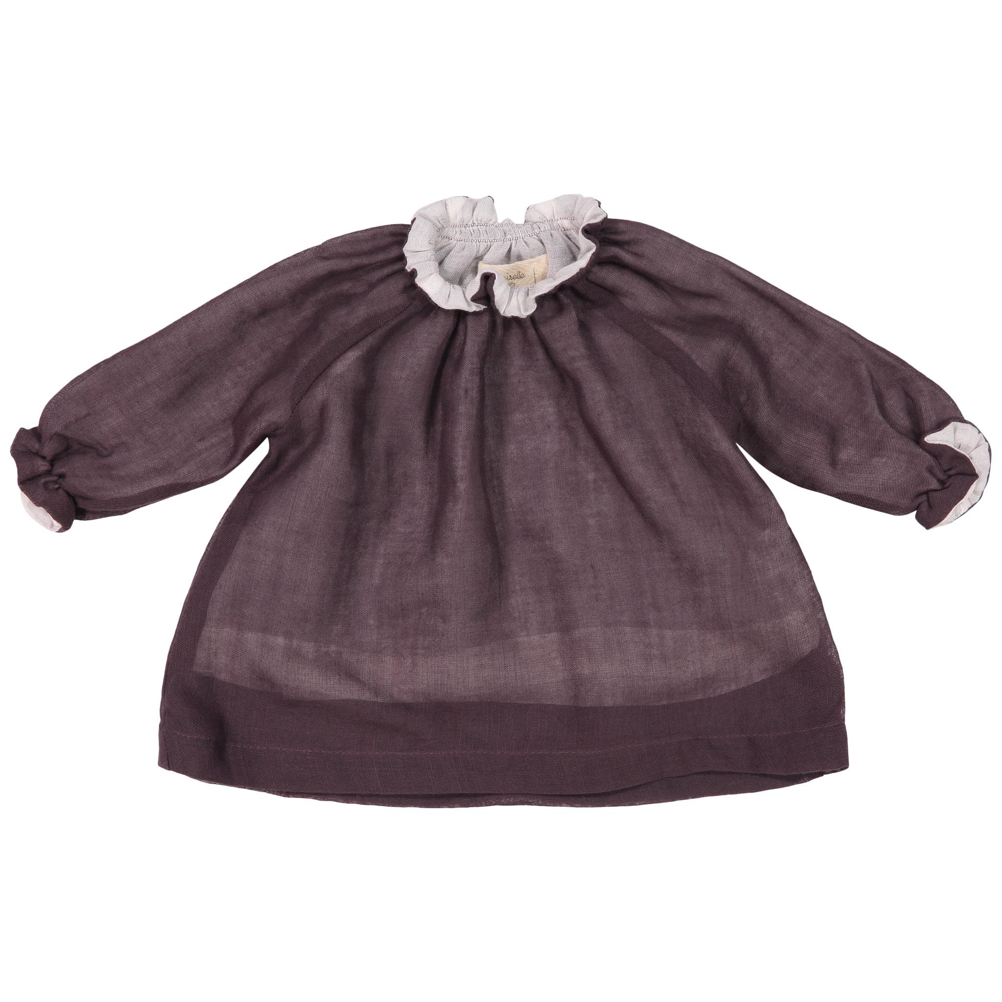 Mademoiselle à Soho Purple Smock Top