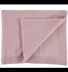 Olivier baby Pink Cashmere Blanket