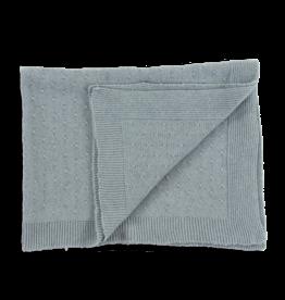 Olivier baby Blue Cashmere Blanket